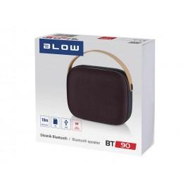 Głośnik bezprzewodowy Blow BT90 brązowy