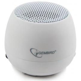 Głośnik przenośny Gembird SPK-103-W biały
