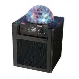 Głośnik bezprzewodowy z kulą disco Trust Fiësta Disco Lite czarny