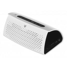 Głośnik bezprzewodowy V7 SP6000-BT biało-czarny + wbudowany Power Bank