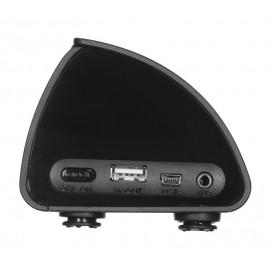 Głośnik bezprzewodowy V7 SP6000-BT czarny + wbudowany Power Bank